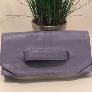 Matt & Nat lilac purple clutch
